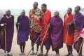 Tribes man singing