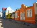 Colored houses in Luderitz
