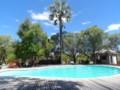 Swimmingpool at Namutoni