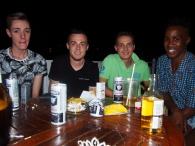 4 guys at Ashanti 90s Party