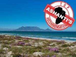 Table Mountain and Ashanti logo