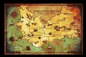 wine tour route