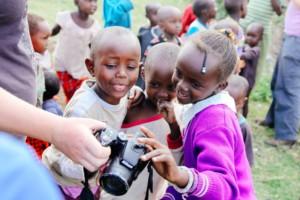 Maasai village kids