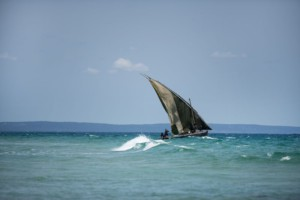 boat in Mozambique