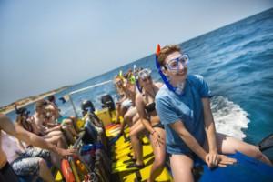 boat trip in zanzibar