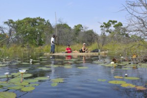 People at Okavano Delta