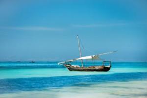 boat at Zanzibar