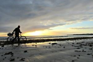 Sunrise at Struisbaai Beach