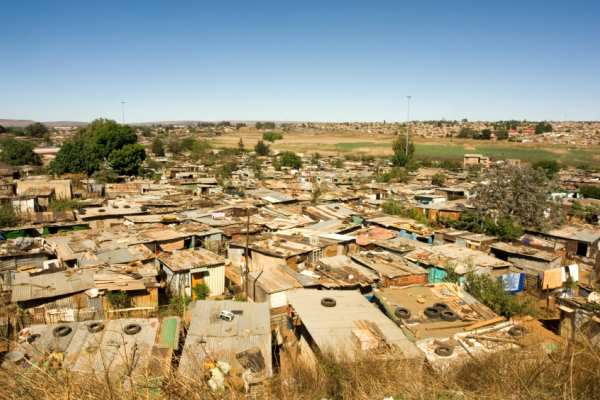 Houses in Soweto