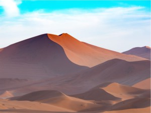Dunes in Namibia