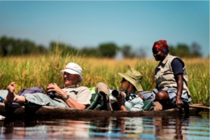Mokoro trip in the Okavango Delta