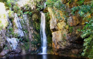 garden route waterfall
