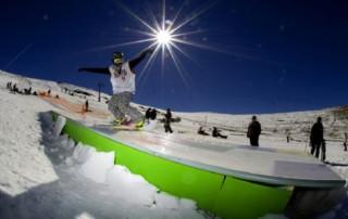 Snowboarding Afriski Winterfest Lesotho
