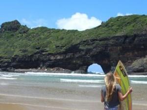 surf beach garden route