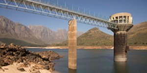 Cape Town dam Levels at Theewaters Kloof