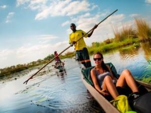 Mokoro Ride Okavango Delta Botswana