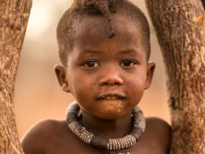 Child from Himba Tribe Namibia