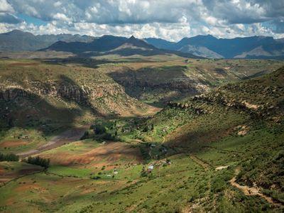 Drakensberg Mountains LesothoDrakensberg Mountains Lesotho