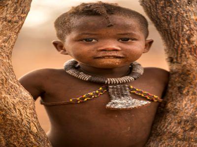 Himba Tribe Child Namibia