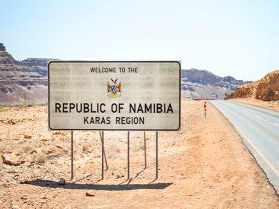 Namibia Sign Overland Safari