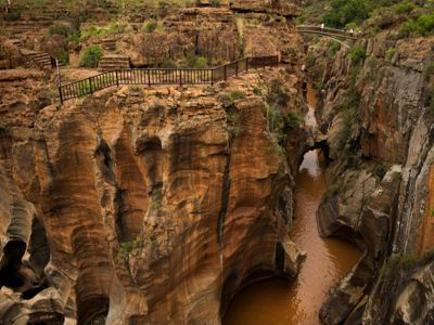 Panorama Route Bourkes Luck Potholes
