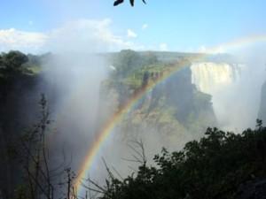 Victoria Falls Rainbow Zimbabwe