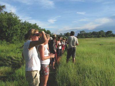 Walking Safari Okavango Delta Botswana