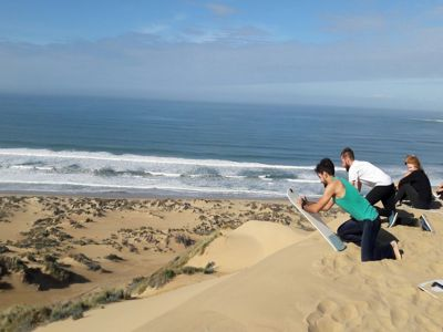 8 day garden route sandboarding Rock the Route
