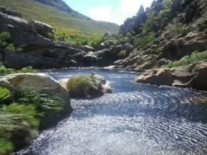 crystal pools river