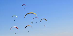 Tandem Paragliding Lions Head