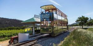Wine tram Franscchoek