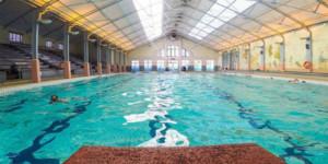 Indoor pool at Long street Turkish Baths