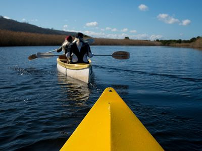 Kayaking Plettenburg Bay