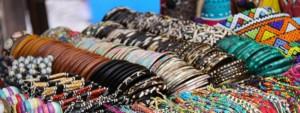 jewelery on a market