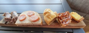 Local South African foods on a plate